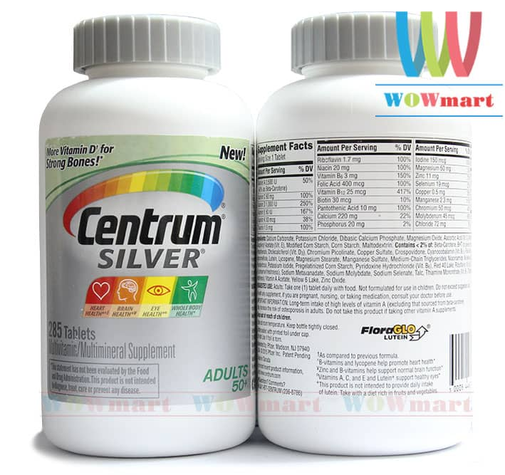 Centrum-Silver-Adults-50+-285v
