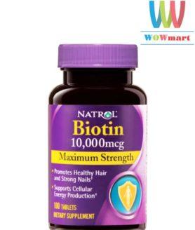 Natrol-Biotin-10000mcg-Maximum-Strength-100v