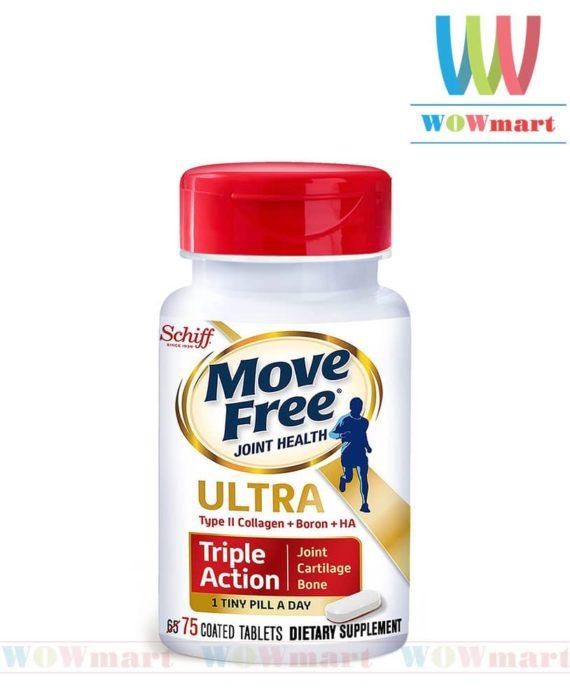Viên uống giảm các cơn đau khớp siêu mạnh Schiff® Move Free® Ultra 75 viên