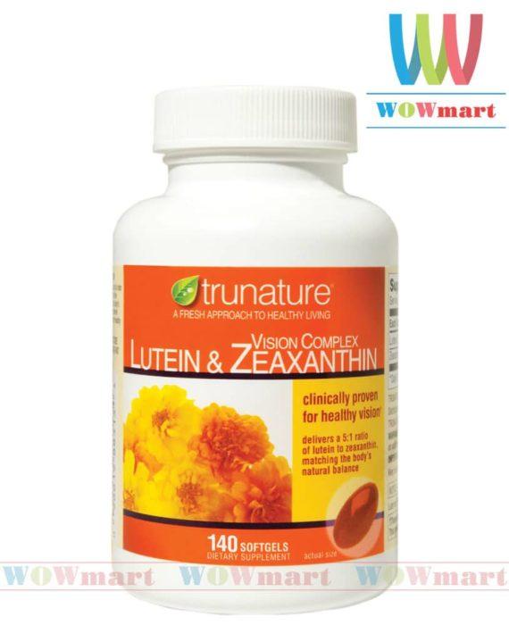 Viên uống sáng mắt trunature® Vision Complex Lutein & Zeaxanthin 140 viên