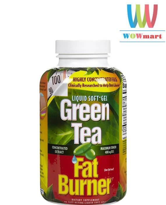 Viên uống giảm cân tinh chất trà xanh Green Tea Fat Burner® 200 viên