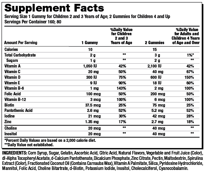 K-Children-SupplementFacts