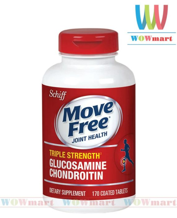 Viên bổ khớp Schiff® Move Free® Advanced Triple Strength 170 viên