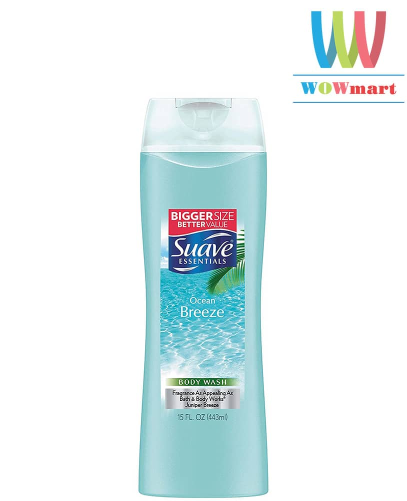 dau-goi-suave-huong-bien-suave-essentials-ocean-breeze-443ml