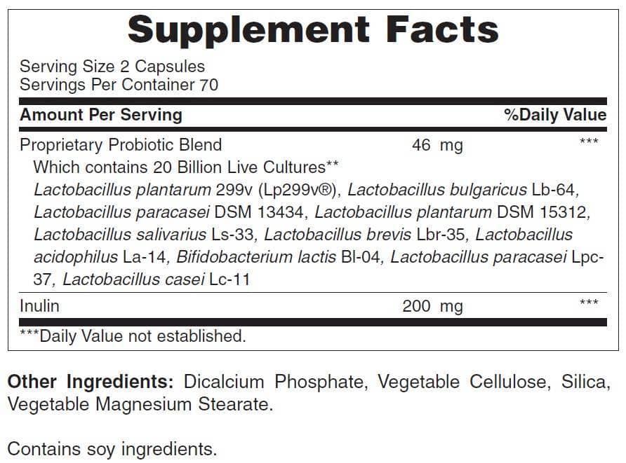 Thanh phan cua thuoc Advanced Probiotic 10