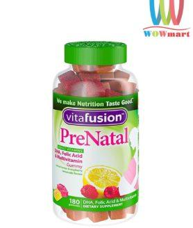 keo-bo-sung-vitamin-cho-ba-bau-vitafusion-prenatal-180-gummies