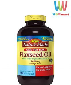 dau hat lanh nature-made-flaxseed-oil-300-vien