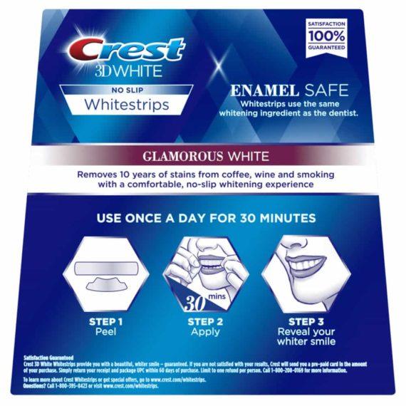 Set miếng dán trắng răng Crest 3D White Whitestrips Advanced and 1Hr Express 36 miếng