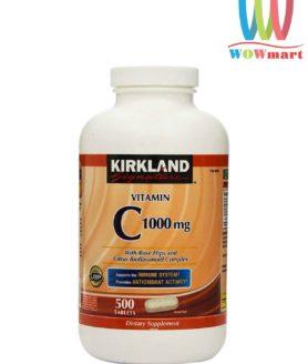 vien-bo-sung-vitamin-c-ho-tro-mien-dich-kirkland-signature-vitamin-c-1000mg-500-vien