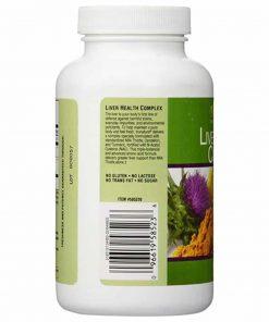 Viên giải độc gan trunature Liver Health Complex with Milk Thistle 180 viên