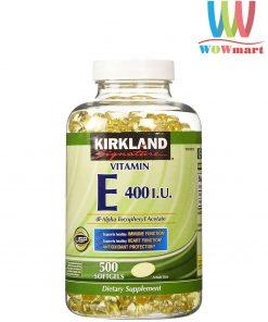 vien-vitamin-e-lam-dep-da-kirkland-signature-vitamin-e-400-iu-500-vien