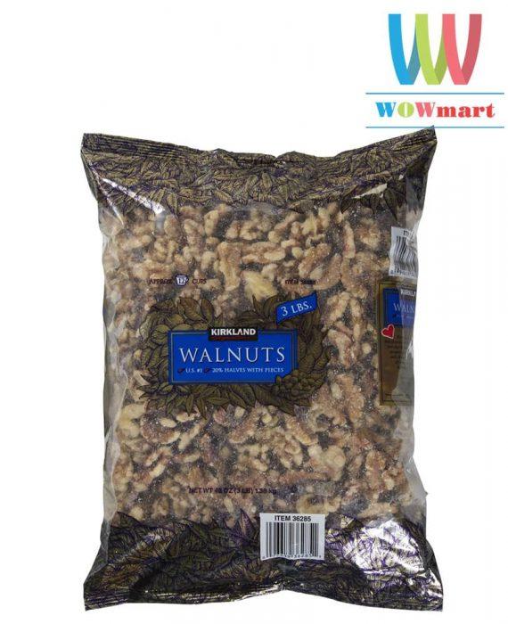 Hạt óc chó Kirkland Signature™ Walnuts 1,36kg