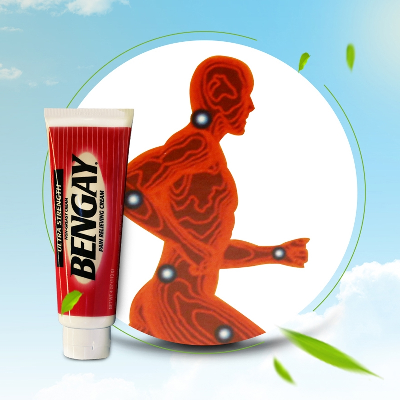 Dầu xoa bóp làm giảm cơn đau nhức Ultra Strength BENGAY Cream 226g (2 tuýp)
