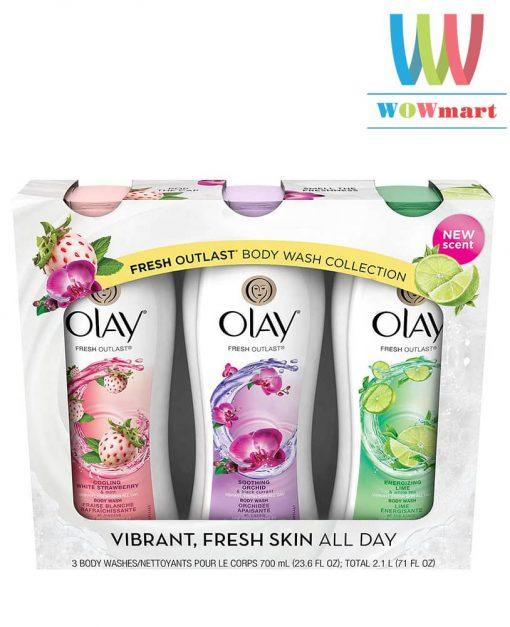 bo-san-pham-sua-tam-olay-fresh-outlast-body-wash