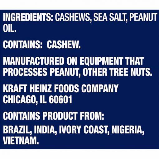 Hạt điều tẩm muối Planters Cashews 400g