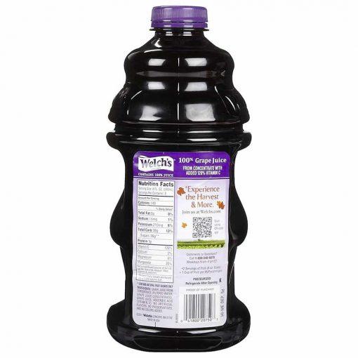 Nước ép nho Welch's 100% Grape Juice 1.89 lít