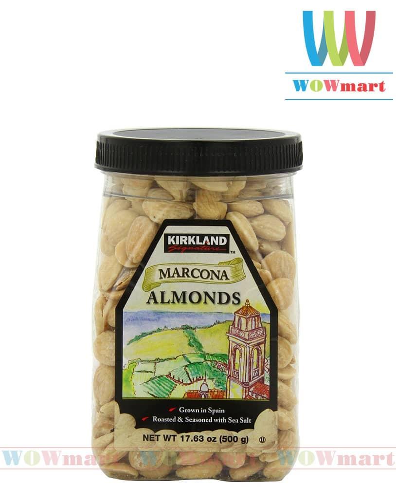 Kirkland-hanh-nhan-marcona-almonds-500g