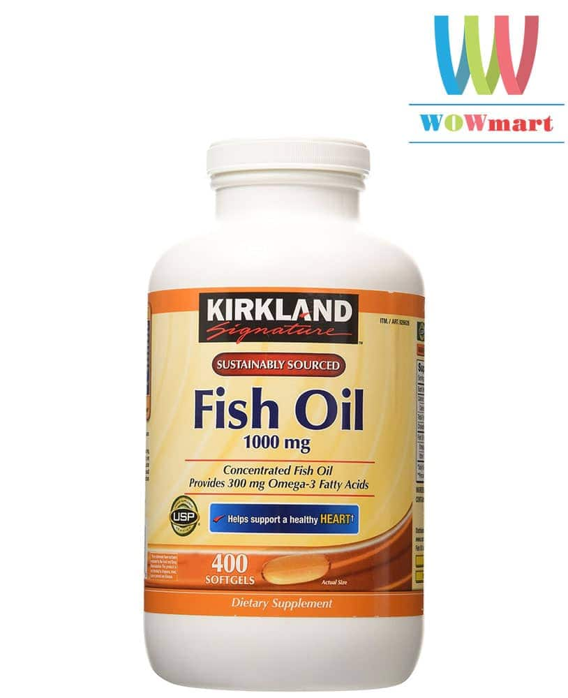 Kirkland Signature Fish Oil 1000mg