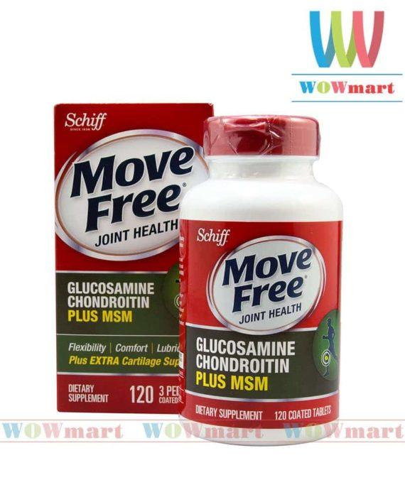 Thuốc bổ khớp Move Free Glucosamine Chondroitin MSM 120 viên