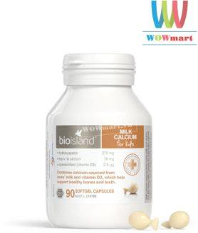 canxi-sua-cho-tre-em-bioisland-calcium-90-vien