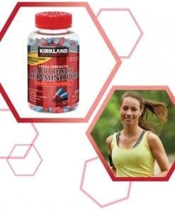 vien giam dau kirkland signature rapid release acetaminophen extra strength 400 vien kc
