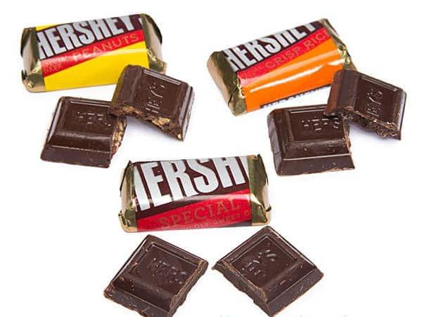 Socola Hershey's Miniatures Special Dark Chocolate gói 1,36kg
