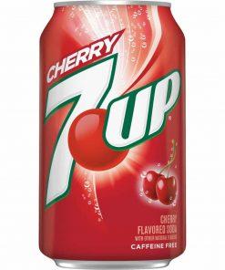 Thùng nước ngọt 7up Cherry 12 lon