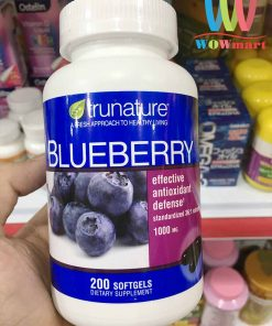 chong oxy hoa tu trai viet quat trunature blueberry extract 1000mg 200 vien 1