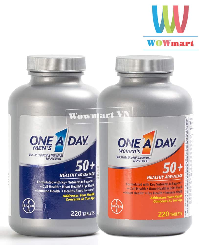 One A Day Men's and Women 50+
