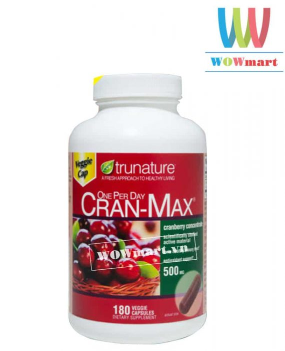 trunature-cran-max-500mg-180v