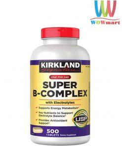ho-tro-nang-luong-tu-kirkland-signature-super-b-complex-500-vien-x1