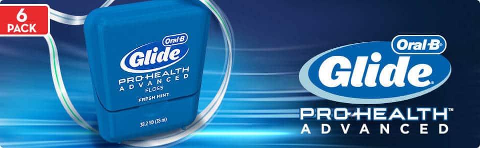 Chỉ nha khoa Oral-B Glide Pro-Health Floss Vĩ 6 hộp
