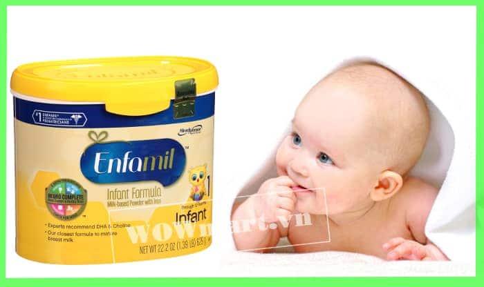 Công dụng của sữa bột Premium Infant 629g