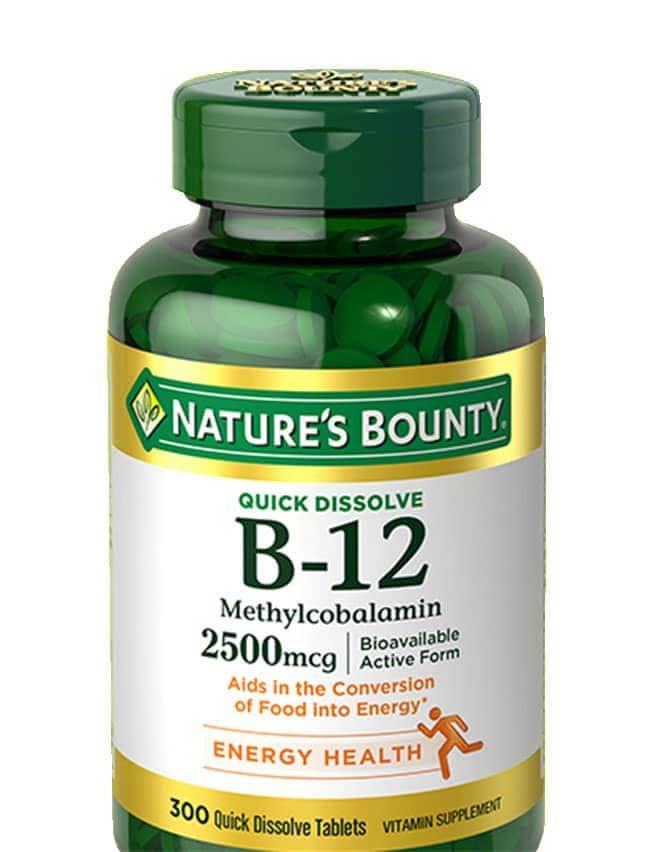 natures bounty b12 quick dissolve 2500mcg 300 vien small