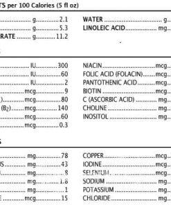 Thành phần có trong sữa bột Enfamil Infant Formula