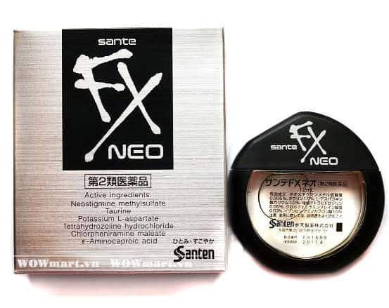Thuốc nhỏ mắt của Nhật Sante FX Neo