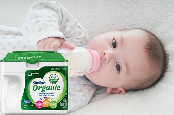 Cách dùng sữa bột Similac Organic Infan Formula hiệu quả