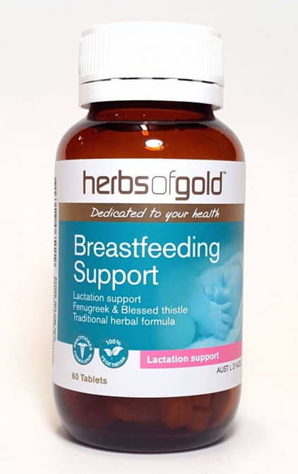 Giới thiệu sản phẩm Herbs Of Gold Breastfeeding Support