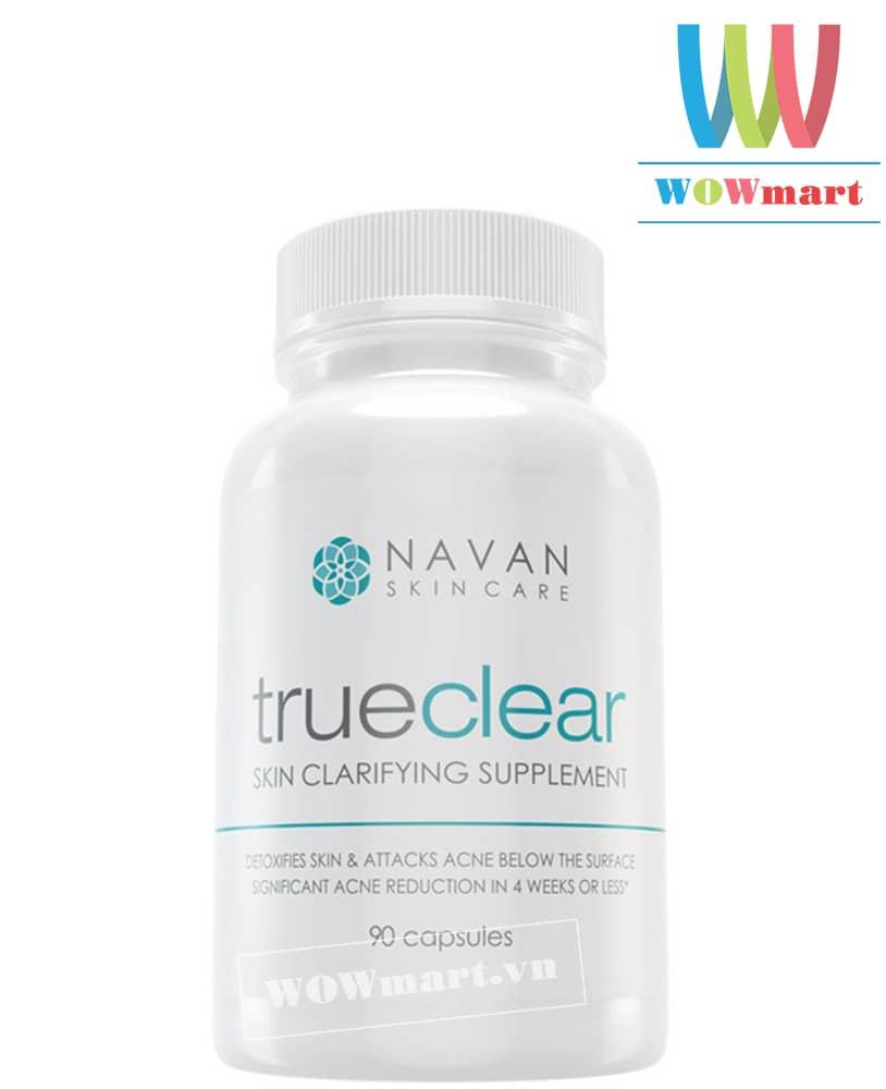Thuốc trị mụn Navan skin care Trueclear 90 viên