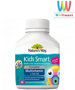 vitamin-tong-hop-va-dau-ca-cho-be-nature-way-kids-smart-complete-multivitamin-fish-oi-50-vien