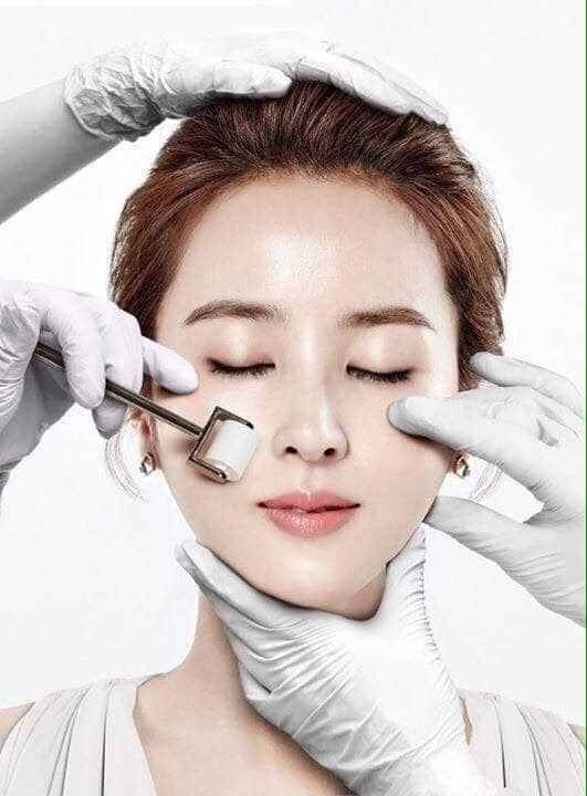 hăm sóc tế bào da với Sét lăn kim Max Clinic NST Program Hàn Quốc