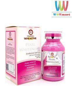 Vien-uong-trang-da-Tatio-Active-Pearl-Whitening-1800mg-60v