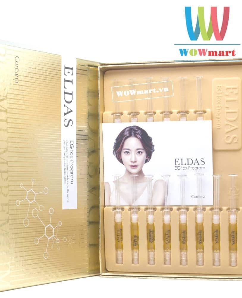 Serum tế bào gốc siêu hot Hàn Quốc Eldas EG Tox Program 30 ống