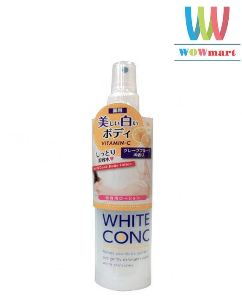xit-duong-trang-da-white-conic-body-lotion-vitamin-c-150ml