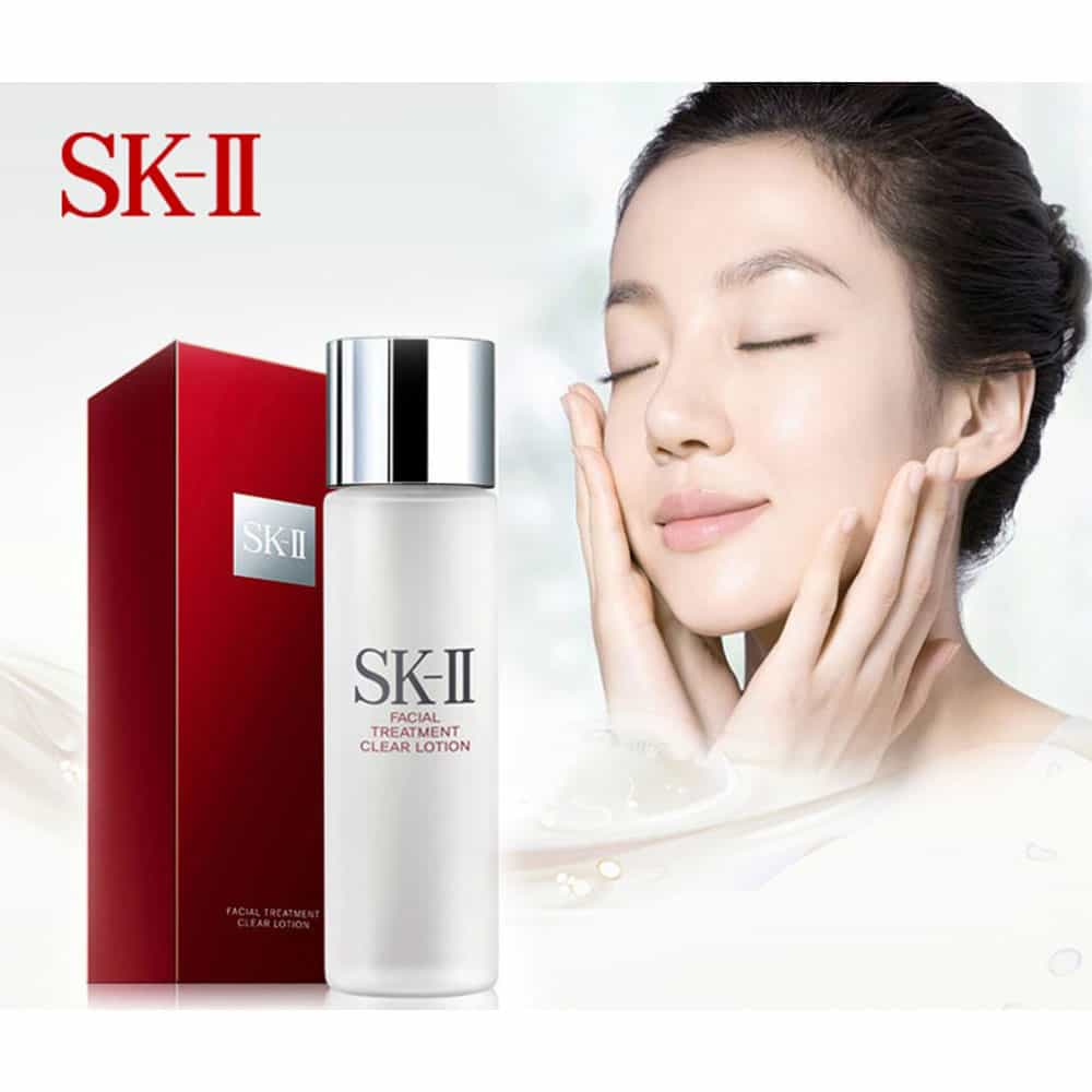 Nc Hoa Hng Sk Ii Facial Treatment Clear Lotion 215ml 10 Ml