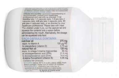 bioisland cod liver fish oil for kids 1