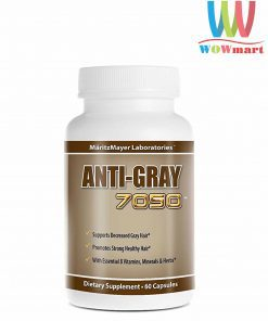 Viên uống trị tóc bạc sớm ANTI GRAY 7050 60 viên