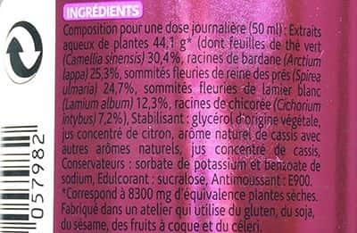 Nước trái cây DETOX cơ thể Milical Draineur của Pháp 500ml