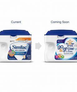 Sữa bột Similac dành cho trẻ từ 1-2 tuổi Similac Go & Grow 624g