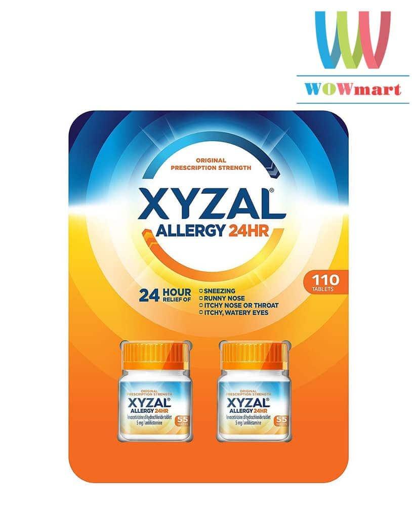 Thuốc chống dị ứng XYZAL Allergy 24hr 110 viên